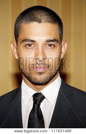 HOLLYWOOD, CALIFORNIA - April 20, 2012. Wilmer Valderrama at the 17th Annual Taste For A Cure Gala held at the Beverly Wilshire Four Seasons Hotel, Los Angeles.