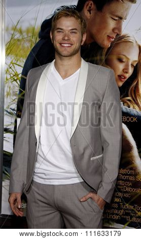 HOLLYWOOD, CALIFORNIA - February 1, 2010. Kellan Lutz at the World premiere of