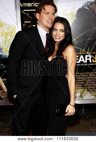 Channing Tatum and Jenna Dewan at the World Premiere of