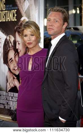 Christina Applegate and Martyn Lenoble at the Los Angeles Premiere of