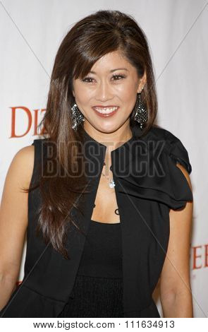 Kristi Yamaguchi at the Dizzy Feet Foundation's Celebration of Dance held at the Kodak Theater in Hollywood, California, United States on November 29, 2009.
