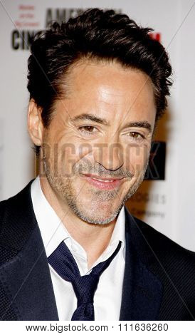 LOS ANGELES, USA - Robert Downey Jr. at the 25th American Cinematheque Award Honoring Robert Downey Jr. held at the Beverly Hilton hotel in Beverly Hills, USA on October 14, 2011.