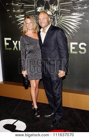 Randy Couture at the Los Angeles premiere of