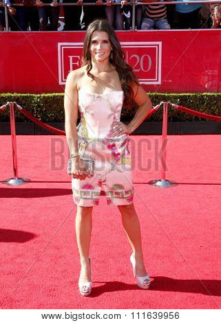 Danica Patrick at the 2012 ESPY Awards held at the Nokia Theatre L.A. Live in Los Angeles, USA on July 11, 2012.