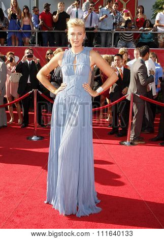 Maria Sharapova at the 2012 ESPY Awards held at the Nokia Theatre L.A. Live in Los Angeles, USA on July 11, 2012.