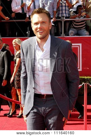 Joel McHale at the 2012 ESPY Awards held at the Nokia Theatre L.A. Live in Los Angeles, USA on July 11, 2012.