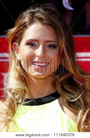 Anastasia Ashley at the 2012 ESPY Awards held at the Nokia Theatre L.A. Live in Los Angeles, USA on July 11, 2012.