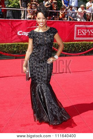 Malaysia Pargo at the 2012 ESPY Awards held at the Nokia Theatre L.A. Live in Los Angeles, USA on July 11, 2012.