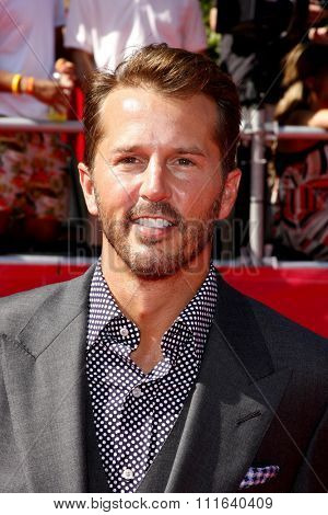 Mike Modano at the 2012 ESPY Awards held at the Nokia Theatre L.A. Live in Los Angeles, USA on July 11, 2012.