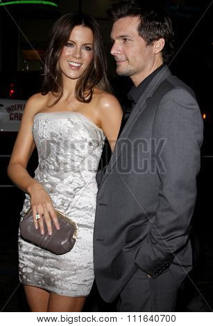 Kate Beckinsale and Len Wiseman at the AFI FEST 2009 Screening of