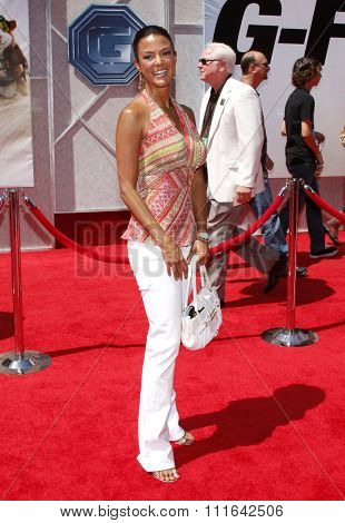 HOLLYWOOD, CALIFORNIA - July 19, 2009. Eva LaRue at the Disney World Premiere of