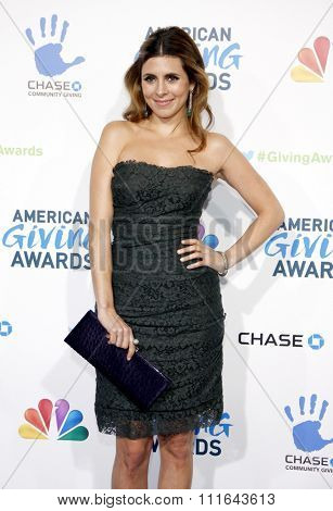 Jamie Lynn Sigler at the 2nd Annual American Giving Awards held at the Pasadena Civic Auditorium in Los Angeles, California, United States on December 7, 2012.