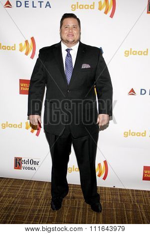Chaz Bono at the 23rd Annual GLAAD Media Awards held at the Westin Bonaventure Hotel in Los Angeles, California, United States on April 21, 2012.