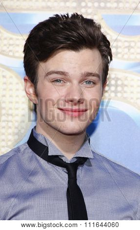 WESTWOOD, CALIFORNIA - August 6, 2011. Chris Colfer at the Los Angeles premiere of