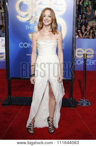 WESTWOOD, CALIFORNIA - August 6, 2011. Jayma Mays at the Los Angeles premiere of