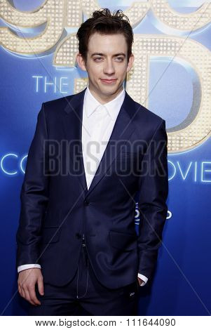 WESTWOOD, CALIFORNIA - August 6, 2011. Kevin McHale at the Los Angeles premiere of