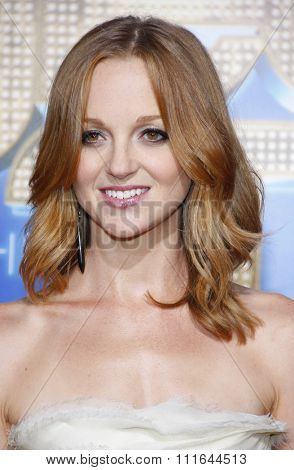 Jayma Mays at the Los Angeles Premiere of
