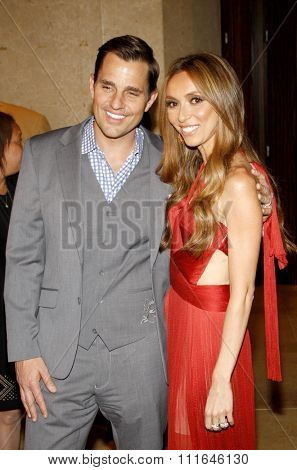 Giuliana Rancic and Bill Rancic at the 37th Annual Gracie Awards Gala held at the Beverly Hilton Hotel in Los Angeles, USA on May 23, 2012.