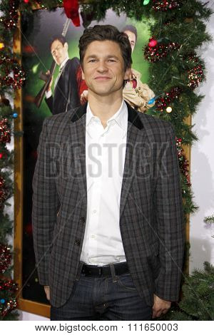 HOLLYWOOD, CALIFORNIA - November 2, 2011. David Burtka at the Los Angeles premiere of