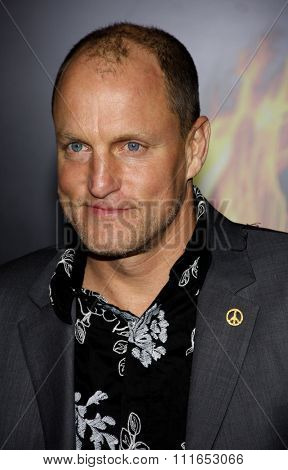 LOS ANGELES, CALIFORNIA - March 12, 2012. Woody Harrelson at the Los Angeles premiere of