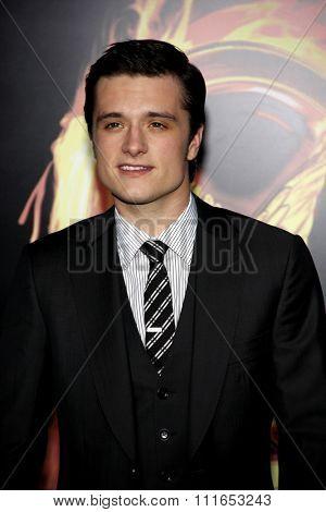 Josh Hutcherson at the Los Angeles Premiere of