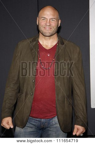 Randy Couture at the Los Angeles premiere of 'Creed' held at the Regency Village Theatre in Westwood, USA on November 19, 2015.