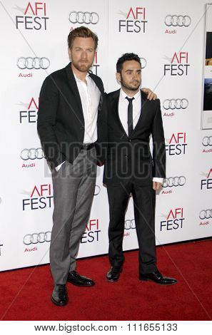 Ewan MvGregor and J.A. Bayona at the 2012 AFI FEST Special Screening of