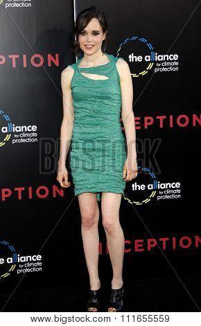 Ellen Page at the Los Angeles Premiere of