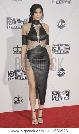 Kylie Jenner at the 2015 American Music Awards held at the Microsoft Theater in Los Angeles, USA on November 22, 2015.
