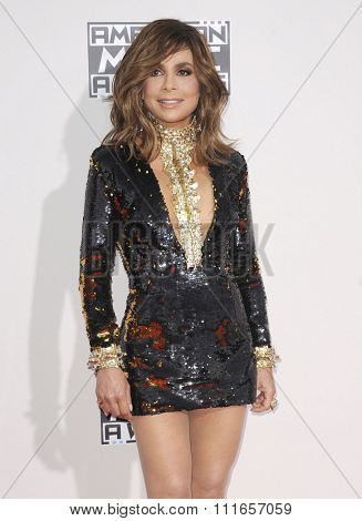 Paula Abdul at the 2015 American Music Awards held at the Microsoft Theater in Los Angeles, USA on November 22, 2015.