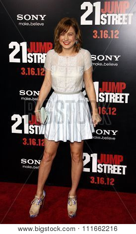 Brie Larson at the Los Angeles Premiere of