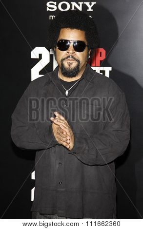 Ice Cube at the Los Angeles Premiere of