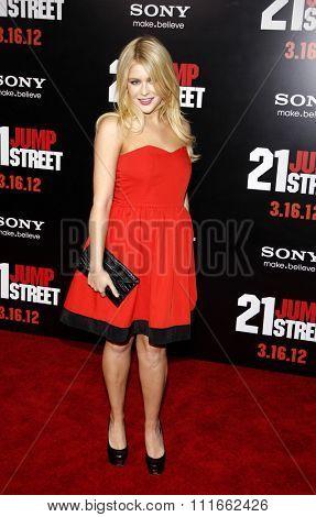 Renee Olstead at the Los Angeles Premiere of