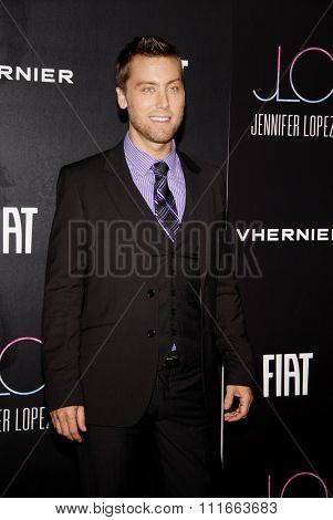 Lance Bass at the JLO's Private American Music Awards Private afterparty held at the Greystone Manor Supper Club in West Hollywood, California, United States on November 20, 2011.