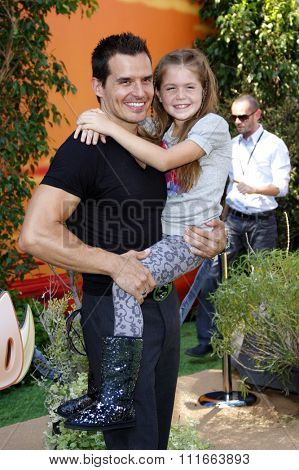 HOLLYWOOD, CALIFORNIA - August 27, 2011. Antonio Sabato Jr at the World premiere of