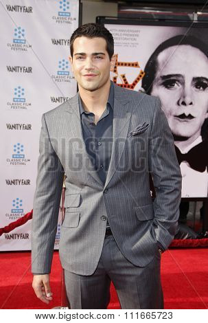Jesse Metcalfe at the 2012 TCM Classic Film Festival Opening Night Gala held at the Grauman's Chinese Theater, California, United States on April 12, 2012.