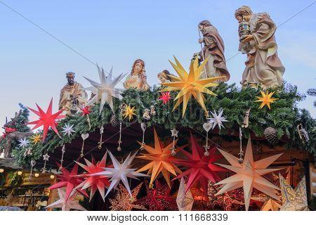 Christmas Market Nativity