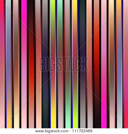 Multicolored vertical graduated stripes abstract.