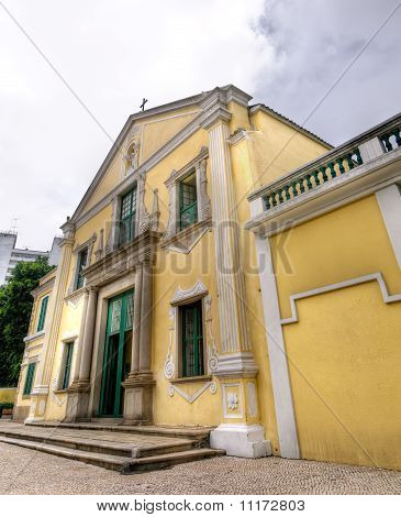 Macau Landmark - St. Augustine's Church
