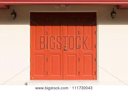 Padlock And Old Door An Vintage