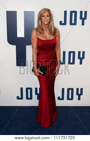 NEW YORK-DEC 13: Joy Mangano attends the