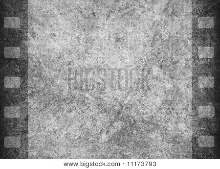 Grunge Graphic Abstract Background With Film