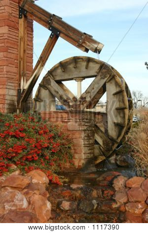 Water Mill In City Park, St. George, Utah