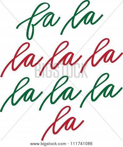 Fa La La La