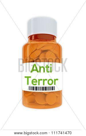Anti Terror Concept