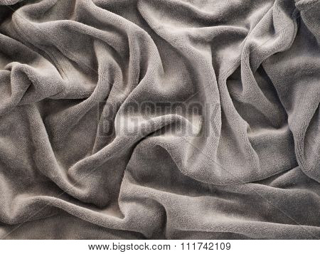 Gray Velour Background