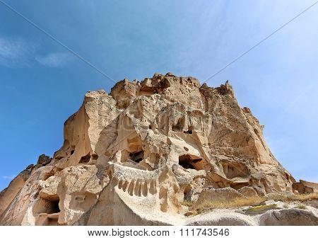 Turkey In The City Of Uchisar