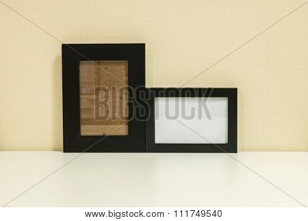 Frame for a photo background