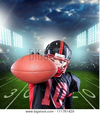 Football Player.