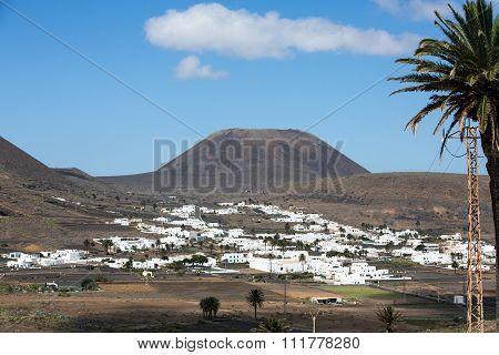 Village Uga on Canary Island Lanzarote Spain